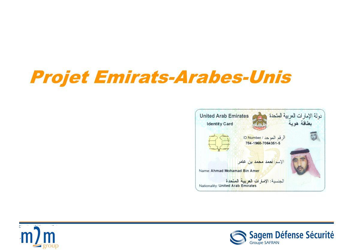 10 Direction / Référence / Date Projet Emirats-Arabes-Unis