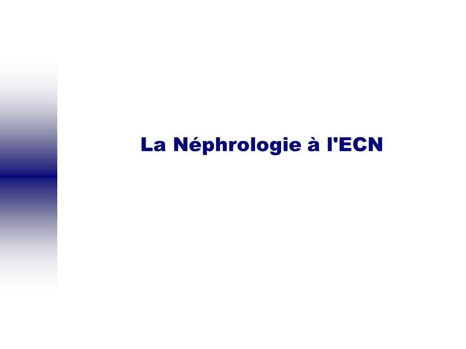 Hémodialyse Indications Urgentes : OAP, hyperK+, acidose Chroniques : à discuter.