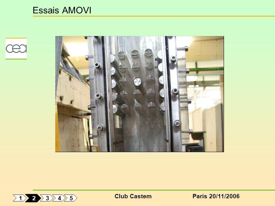 Club CastemParis 20/11/2006 Essais AMOVI 1 5 4 3 2