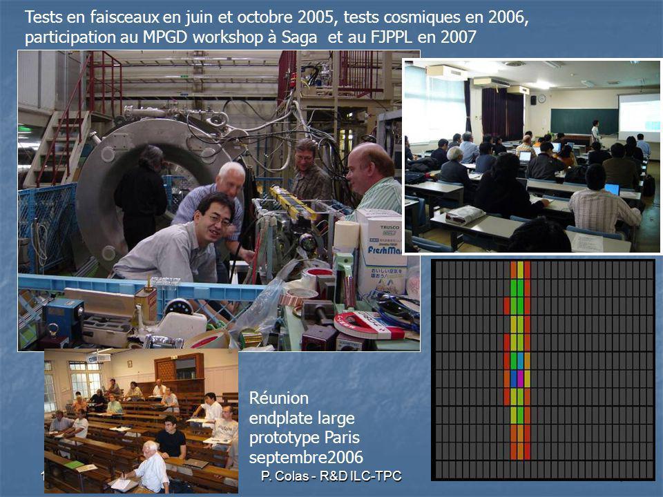 12 juin 2007P. Colas - R&D ILC-TPC15
