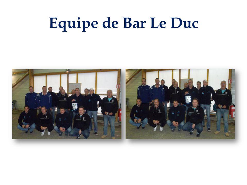 Equipe de Bar Le Duc