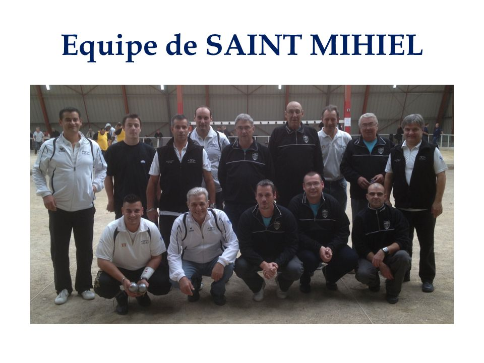 Equipe de SAINT MIHIEL