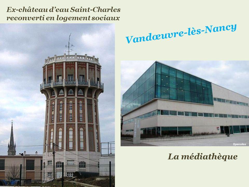 Vandœuvre-lès-Nancy boulevard de lEurope
