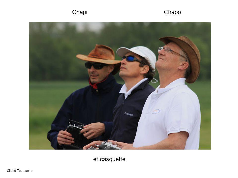 ChapiChapo et casquette Cliché Tournache