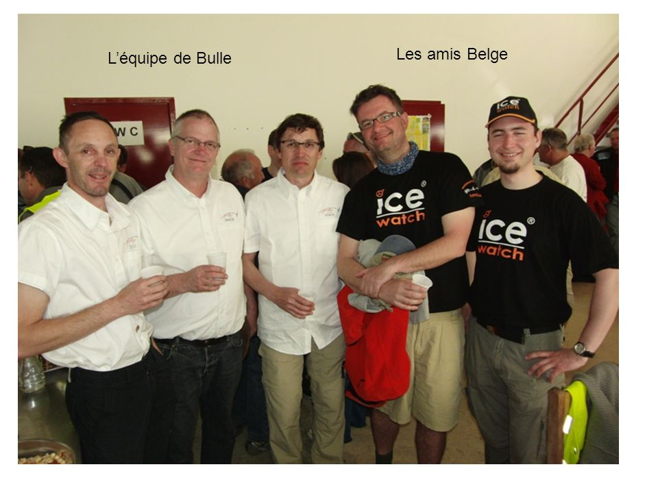 Léquipe de Bulle Les amis Belge