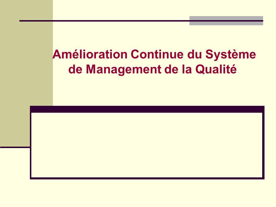 Le Management de la Qualité De la Conformité à lEfficacité Référentiel Réalité - Spécifications - Réglementation - Normes - Procédures - Instructions