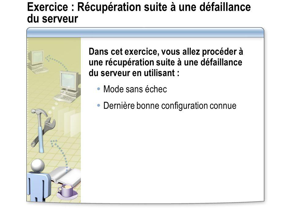 Leçon : Choix d une méthode de récupération en cas durgence Quels sont les outils de récupération en cas d urgence ?