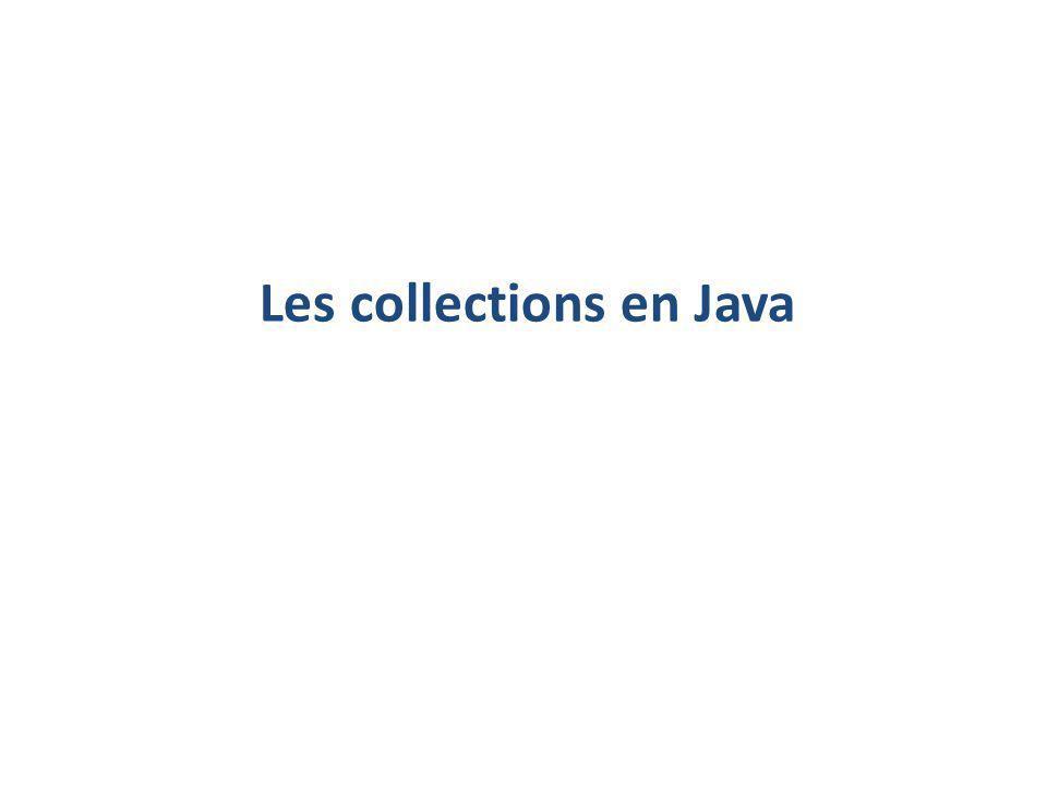 Les collections en Java