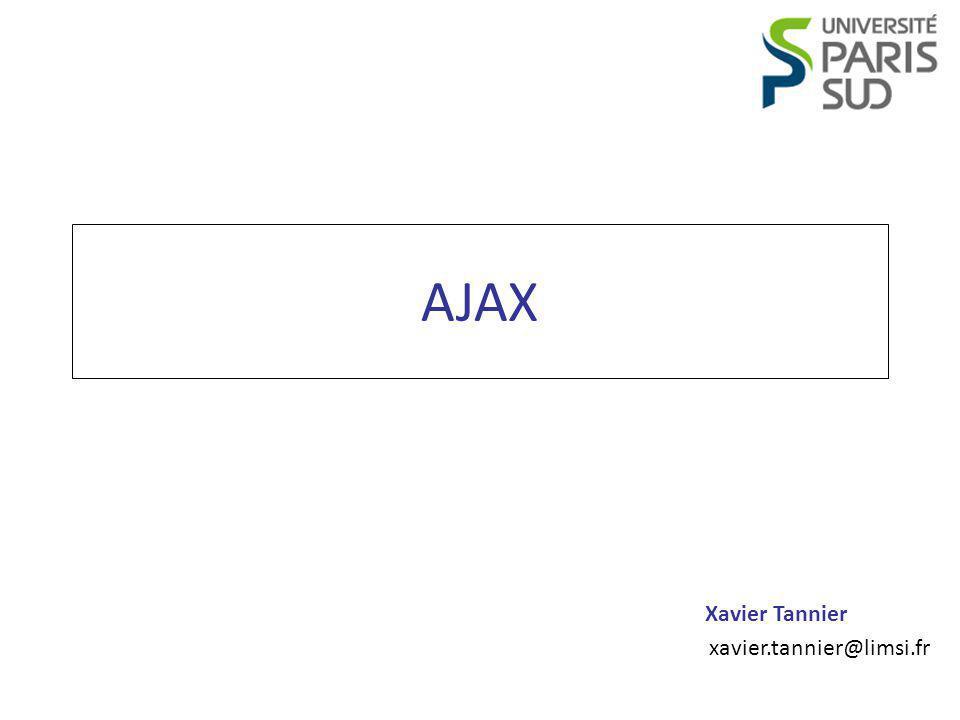 Xavier Tannier xavier.tannier@limsi.fr AJAX