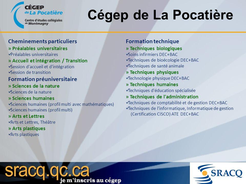 Cégep de La Pocatière Cheminements particuliers » Préalables universitaires Préalables universitaires » Accueil et intégration / Transition Session d'