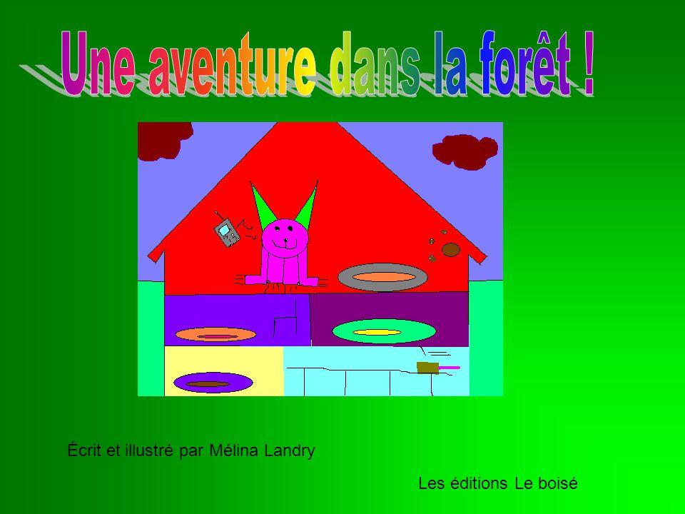 Écrit et illustré par Mélina Landry Les éditions Le boisé