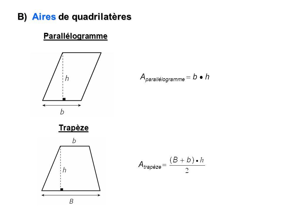 Exemple #1 : Trouver limage du quadrilatère ABCD si on lui applique la règle de transformation suivante : 1 1 A B D C B A C D (x, y) (x, 2y) A (-4, 1) A (-4, 2 x 1) A (-4, 2) B (0, 4) B (0, 2 x 4) B (0, 8) C (4, -1) C (4, 2 x -1) C (4, -2) D (3, -4) D (3, 2 x -4) D (3, -8) Cest une dilatation verticale !