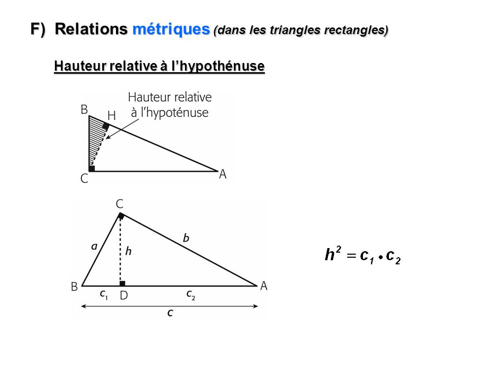 1 1 Exemple #2 : A (-8, -2) A (½ x -8, ½ x -2) A (-4, -1) h (O, ½) : B (-2, 10) B (½ x -2, ½ x 10) B (-1, 5) C (6, -6) C (½ x 6, ½ x -6) C (3, -3) Trouver limage du triangle ABC si on lui applique une homothétie h (O, ½).