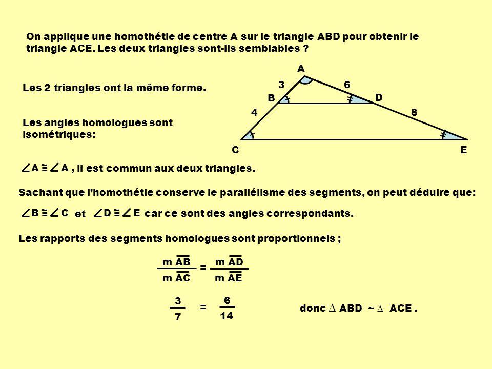 Les deux rectangles ci-contre sont semblables; Quelle est la mesure du segment GH .