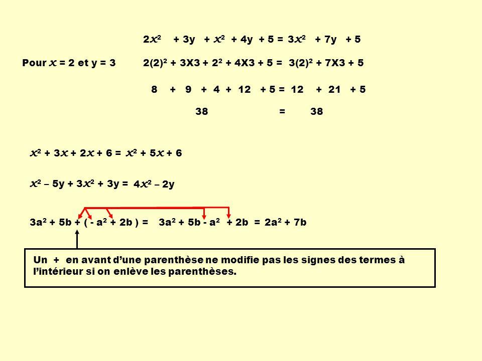 2 x 2 y 3 z ÷ 4 x yz 2 = 2 z x y 2 soit 2x2y3z2x2y3z 4 x yz 2 = 2.