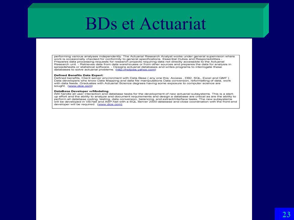 BDs et Actuariat 22