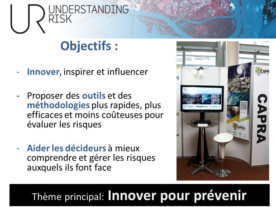 Objectifs : -Innover, inspirer et influencer -Proposer des outils et des méthodologies plus rapides, plus efficaces et moins coûteuses pour évaluer le