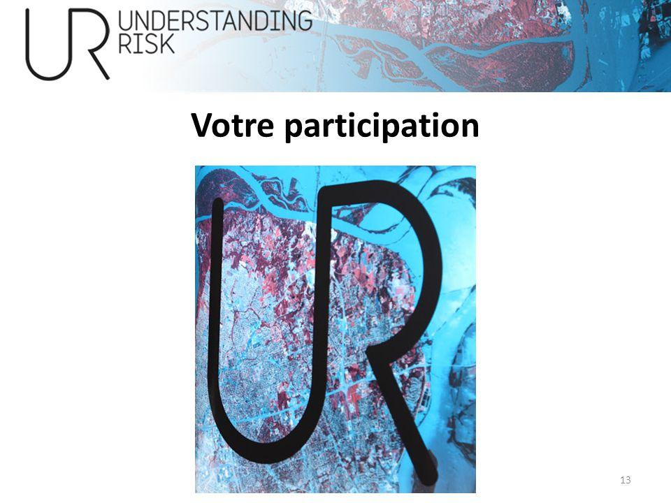 Votre participation 13