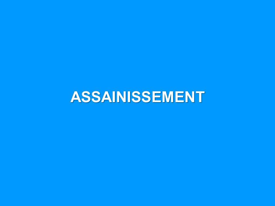 14 ASSAINISSEMENT
