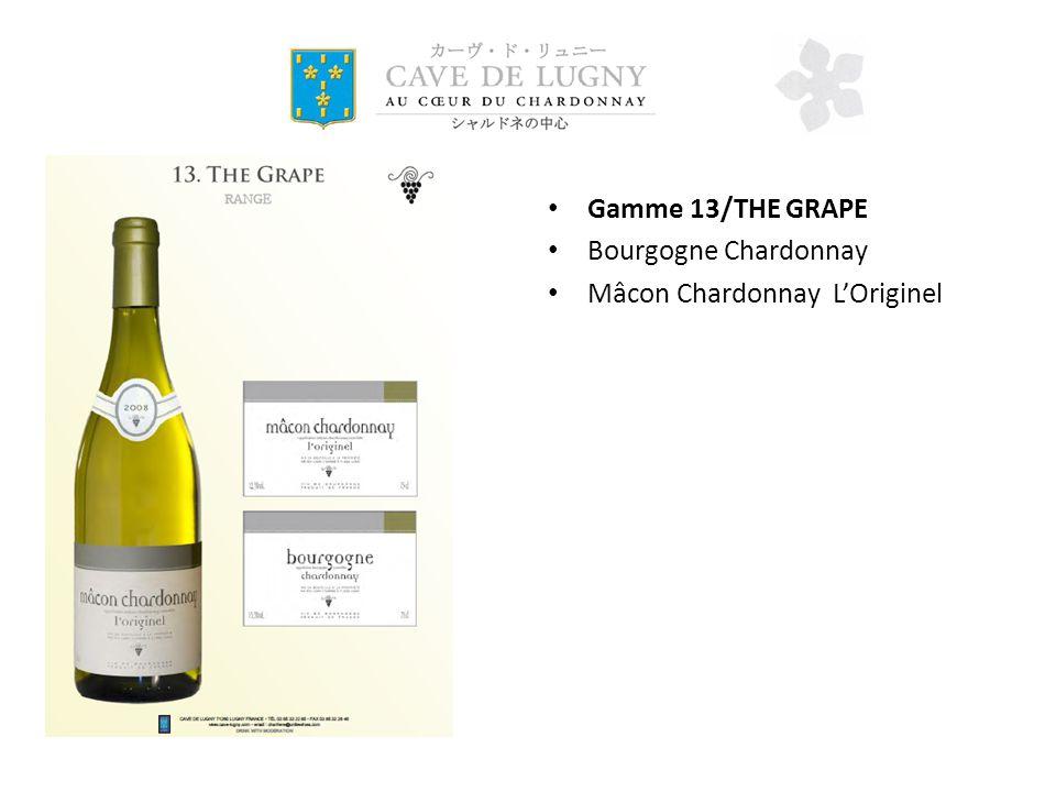 Gamme 13/THE GRAPE Bourgogne Chardonnay Mâcon Chardonnay LOriginel
