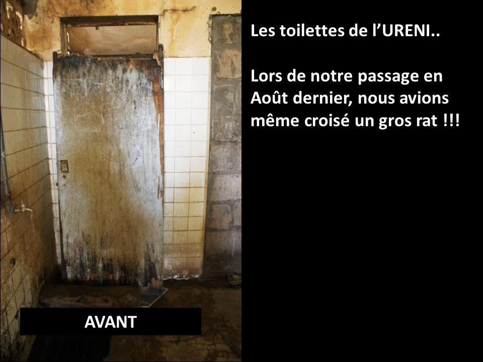 Les toilettes de lURENI..