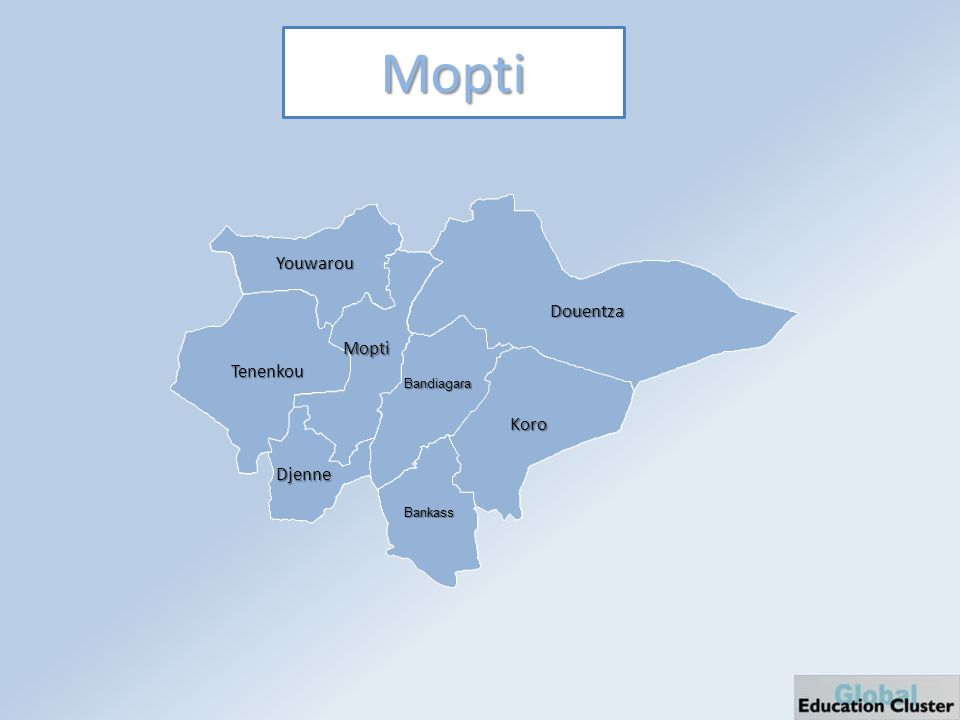 Mopti Douentza Youwarou Tenenkou Mopti Djenne Bandiagara Bankass Koro