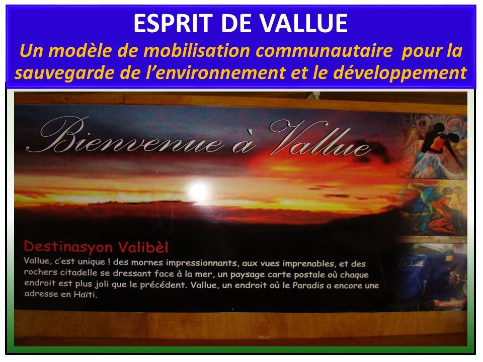 Quest-on entend par «esprit de Vallue» .