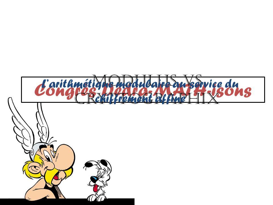 Chiffrement par substitution polyalphabétique Chiffrement polyalphabétique Intro/ Congruence/ Chiffrement monoalphabétique/ Chiffrement polyalphabétique