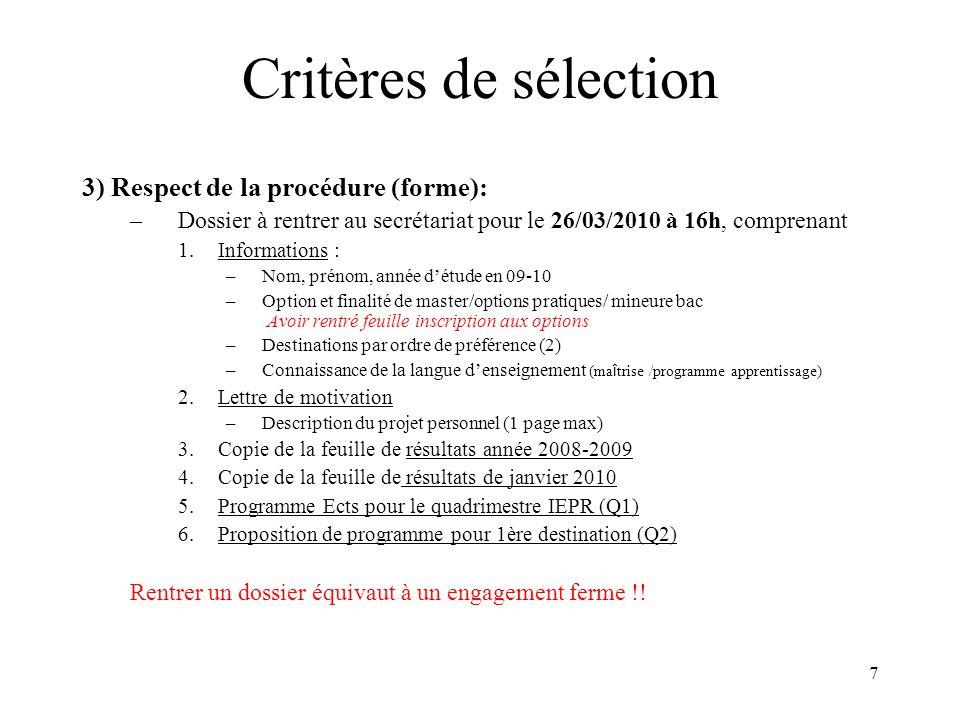 18 Accords bilatéraux 2010-2011