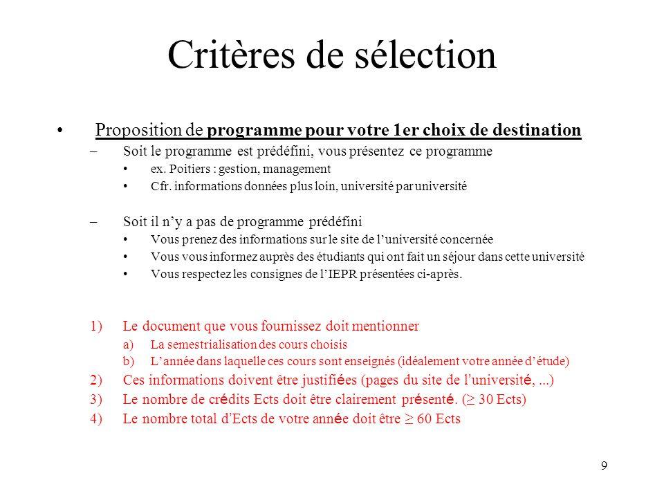 30 Cours de langue ILV