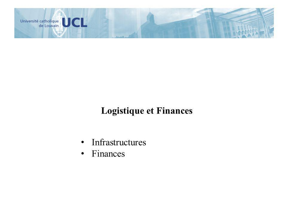 Logistique et Finances Infrastructures Finances