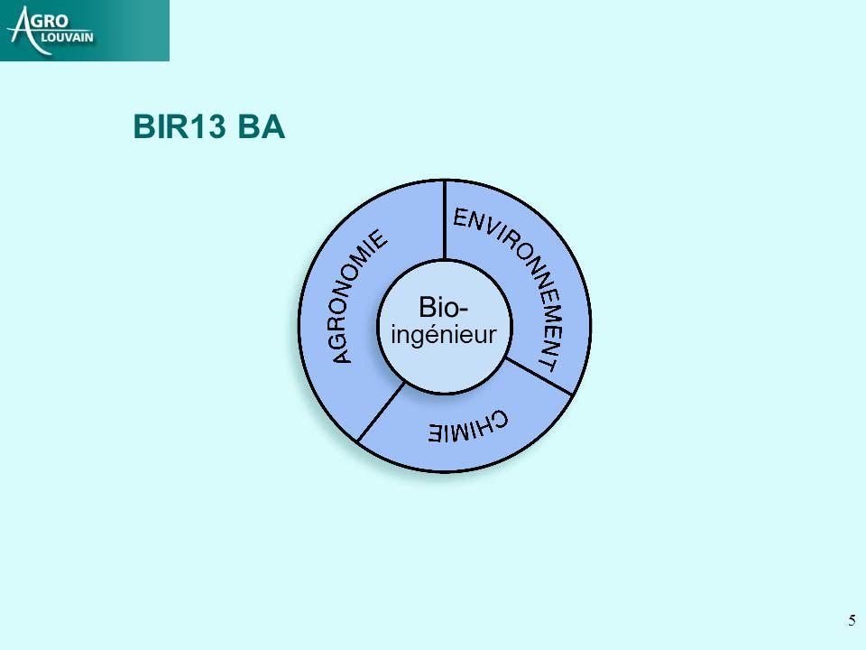 5 Bio- ingénieur BIR13 BA