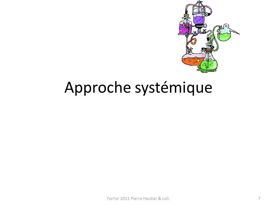 Approche systémique ForFor 2011 Pierre Hautier & coll.7