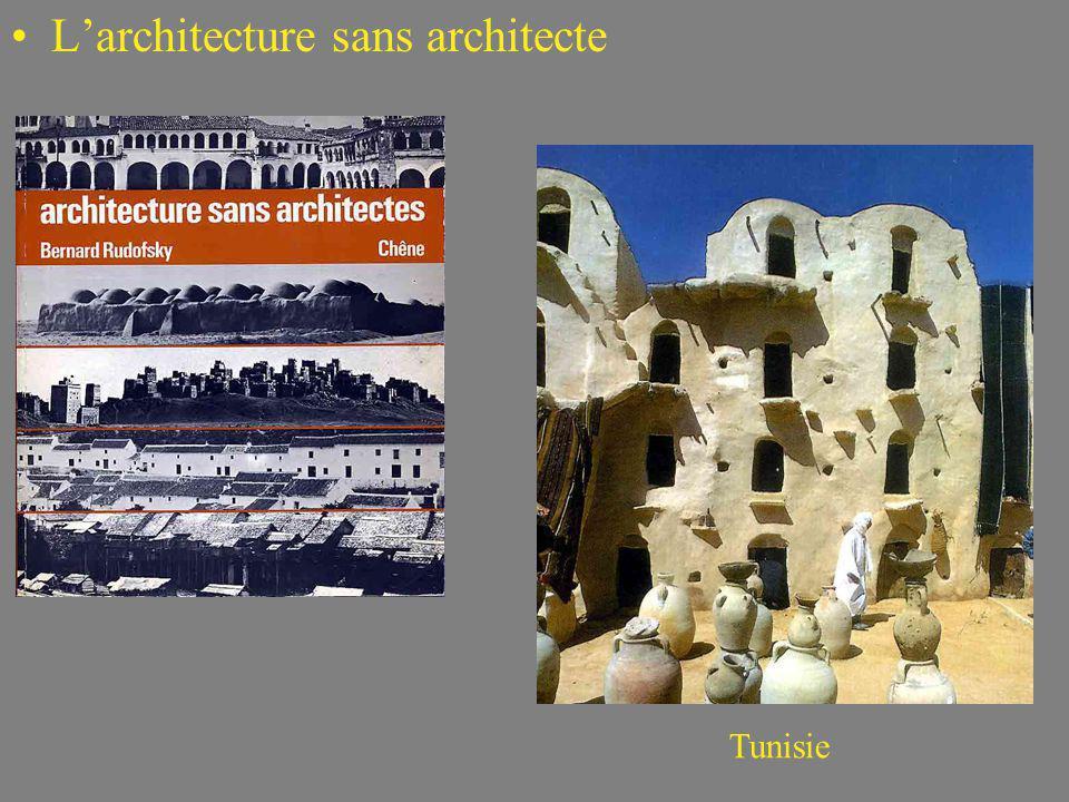 Larchitecture sans architecte Tunisie