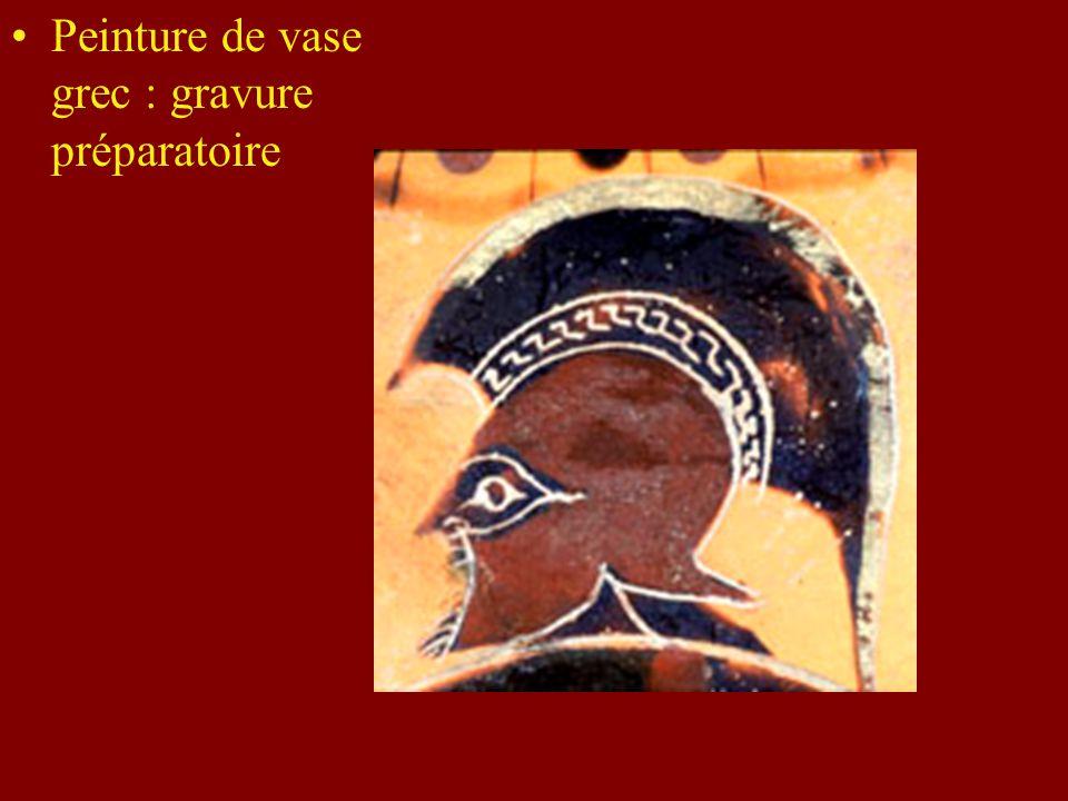 Peinture égyptienne Importance de la préparation La mise en oeuvre