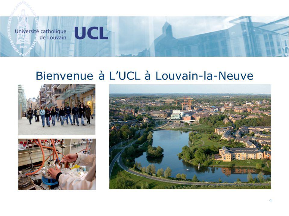4 Bienvenue à LUCL à Louvain-la-Neuve
