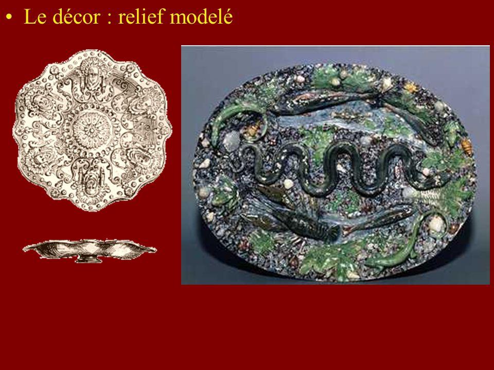 Le décor : relief modelé