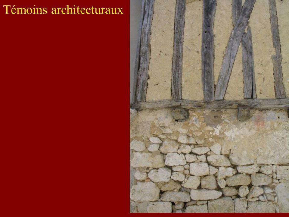 Témoins architecturaux