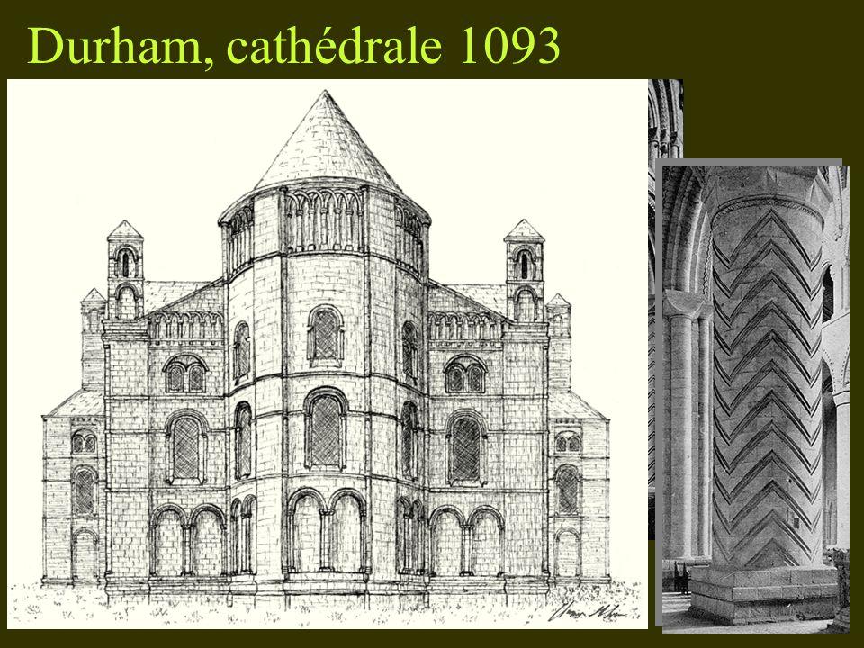 Durham, cathédrale 1093