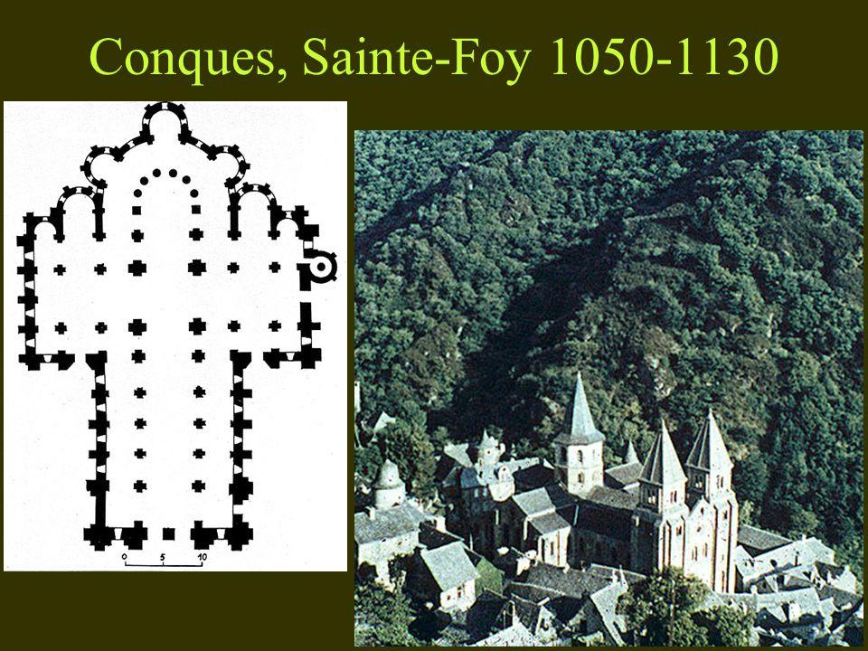 Conques, Sainte-Foy 1050-1130