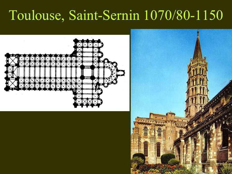 Toulouse, Saint-Sernin 1070/80-1150
