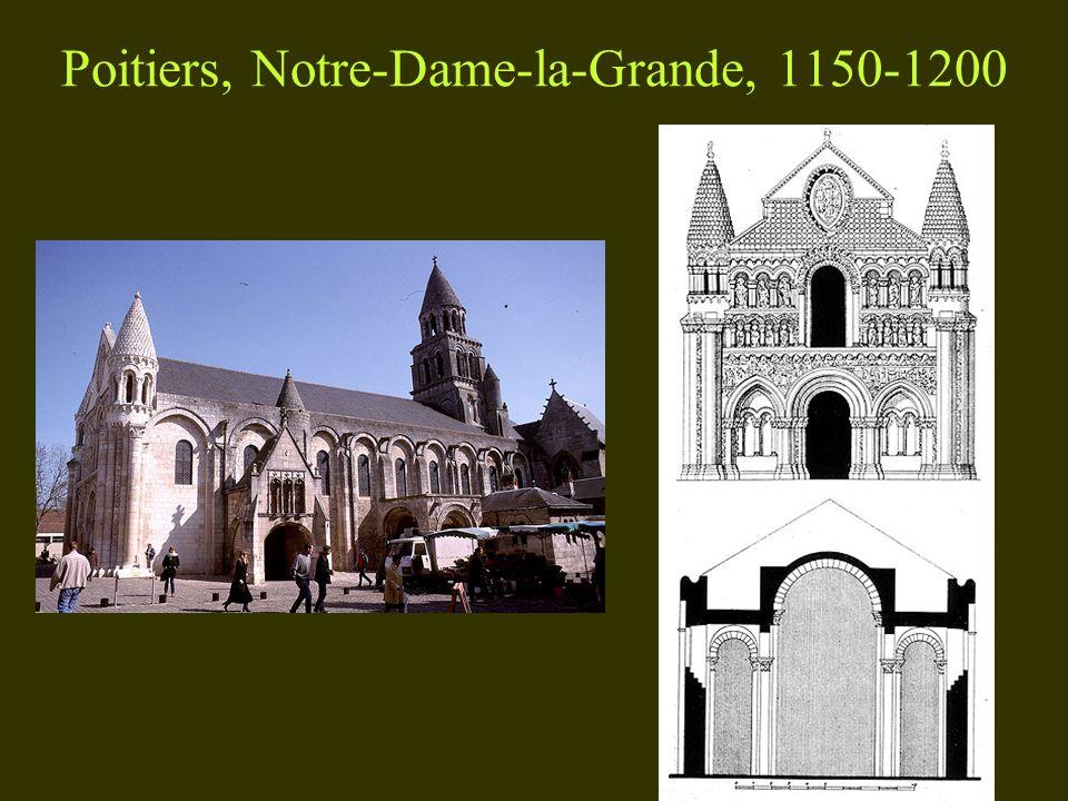 Poitiers, Notre-Dame-la-Grande, 1150-1200