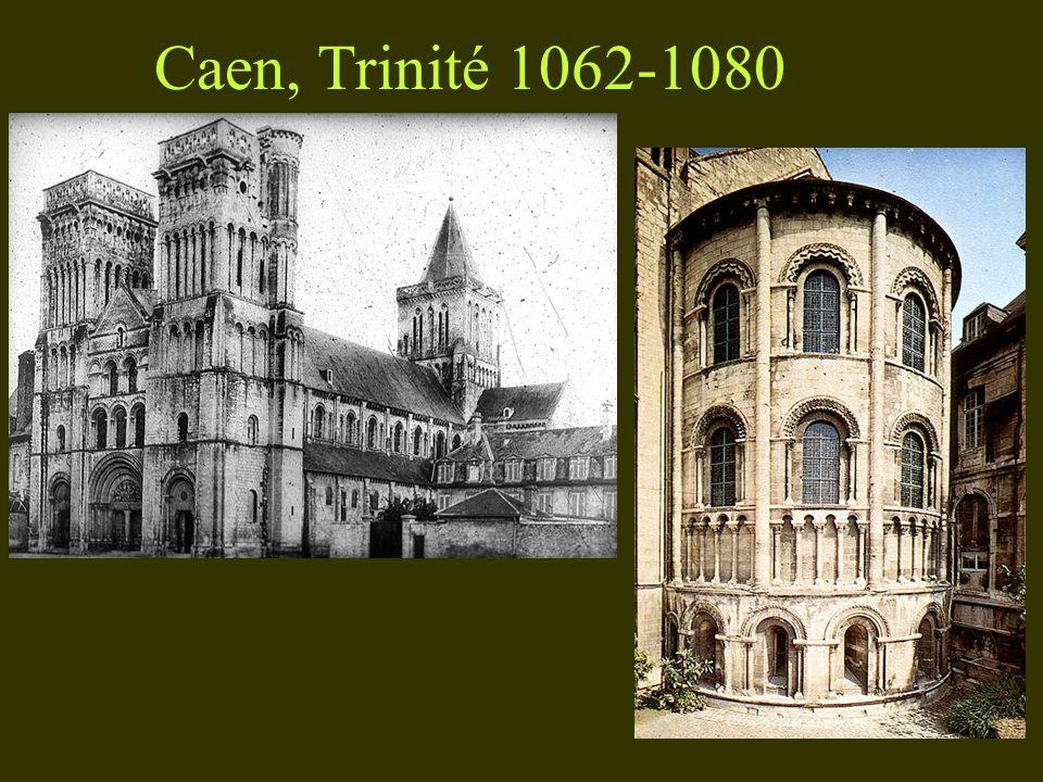 Caen, Trinité 1062-1080