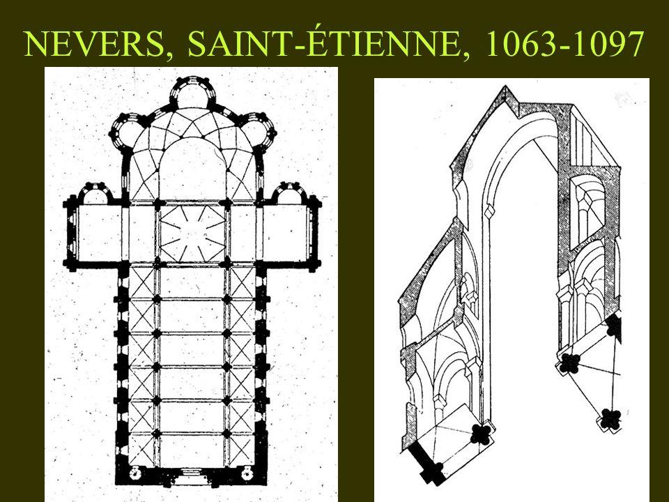 NEVERS, SAINT-ÉTIENNE, 1063-1097