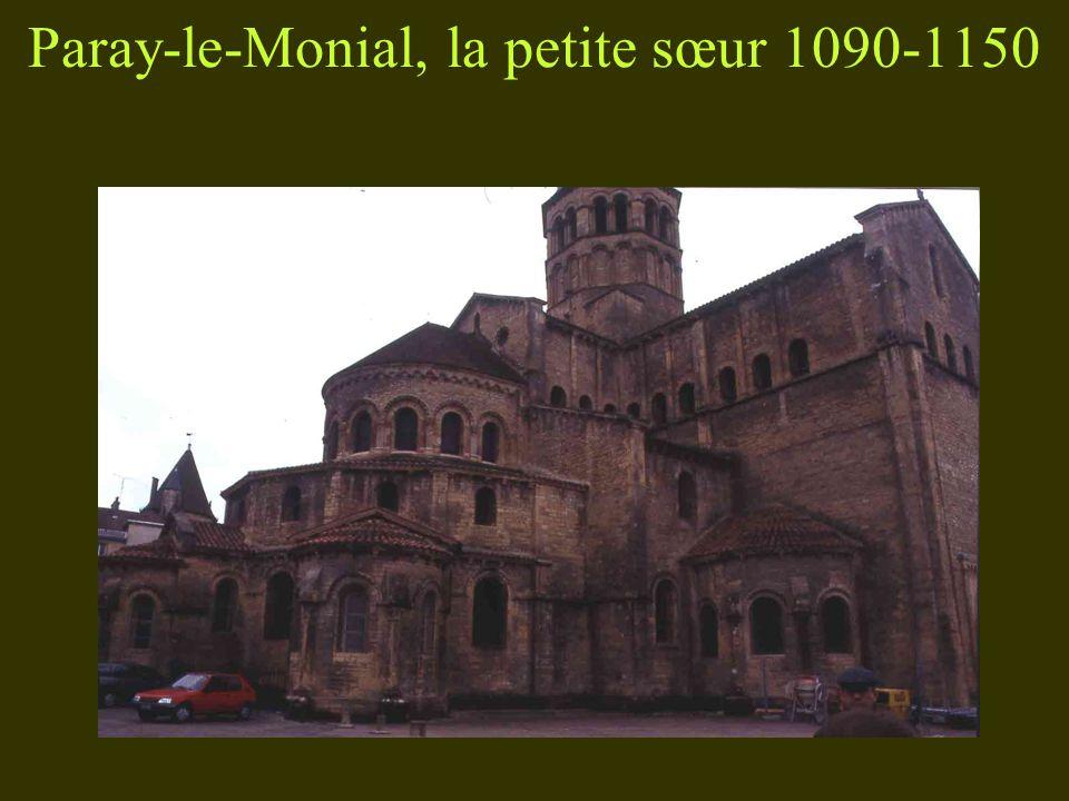 Paray-le-Monial, la petite sœur 1090-1150