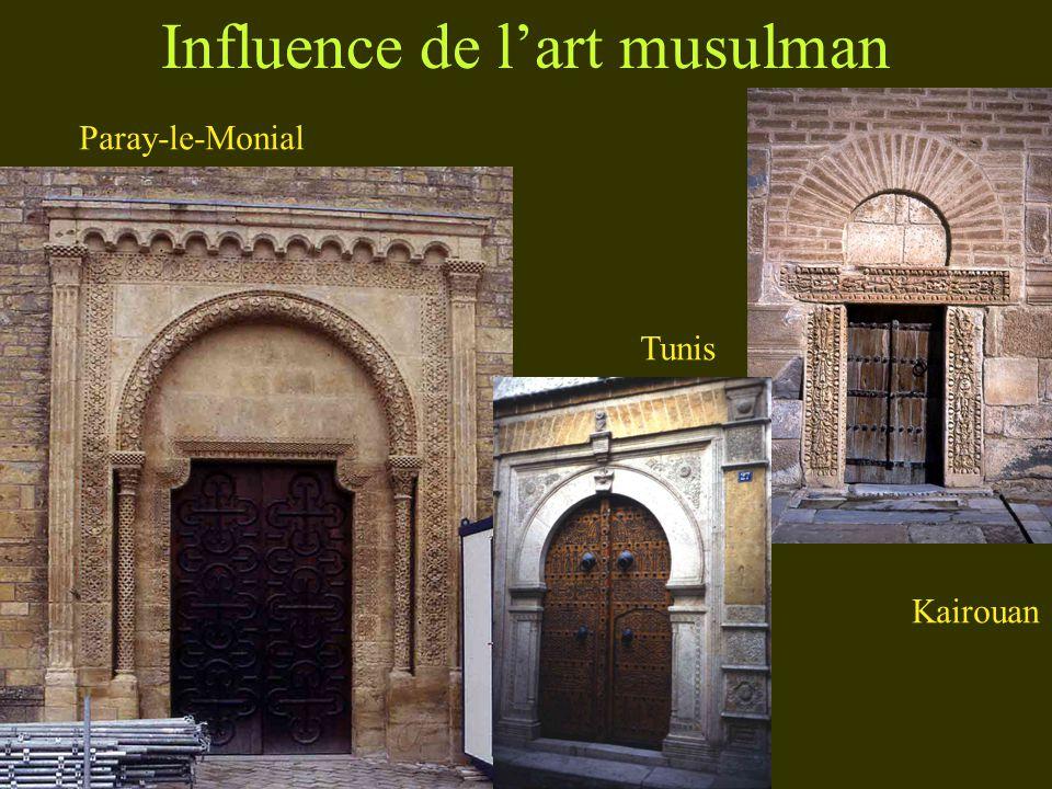 Influence de lart musulman Paray-le-Monial Kairouan Tunis