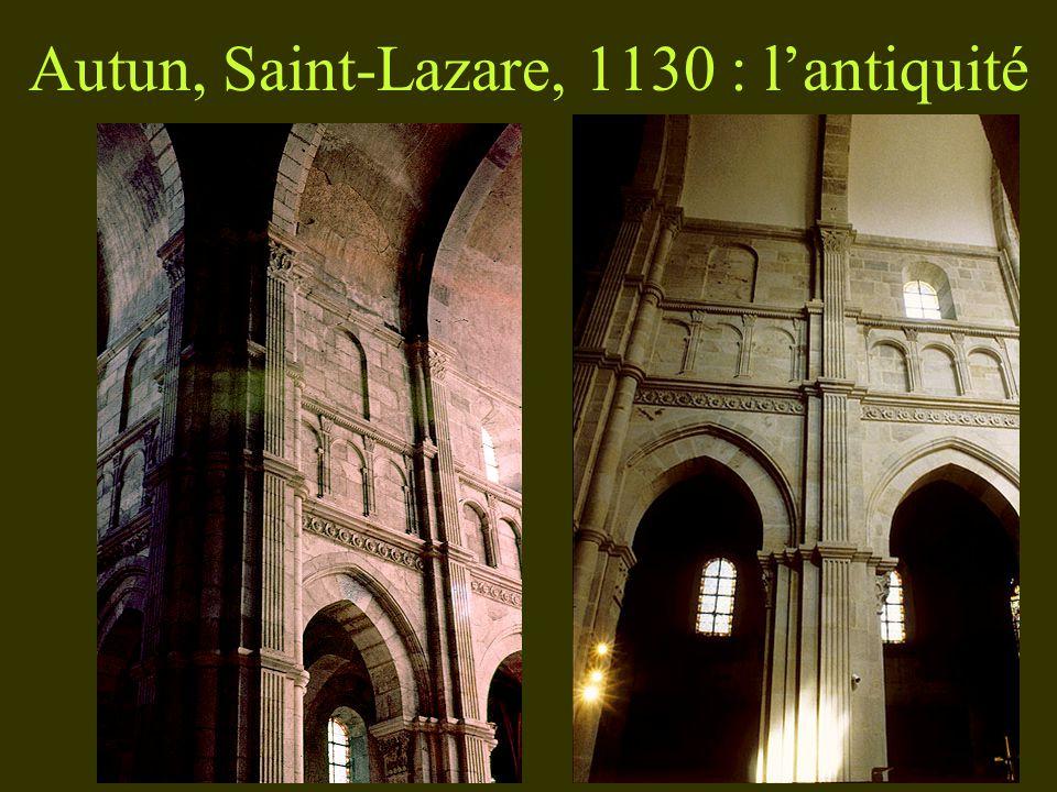 Autun, Saint-Lazare, 1130 : lantiquité