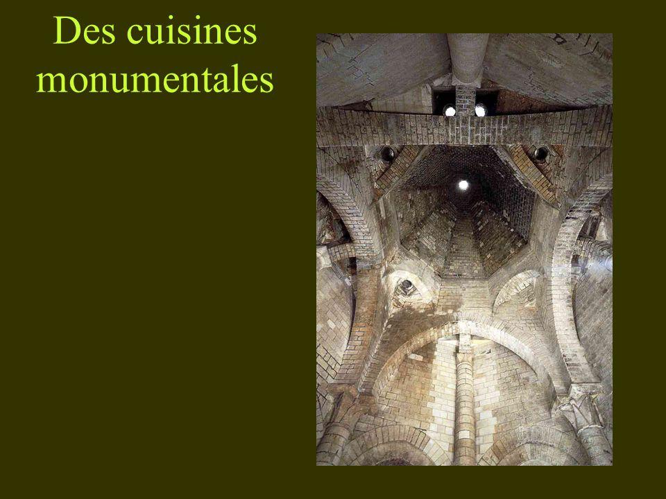 Des cuisines monumentales