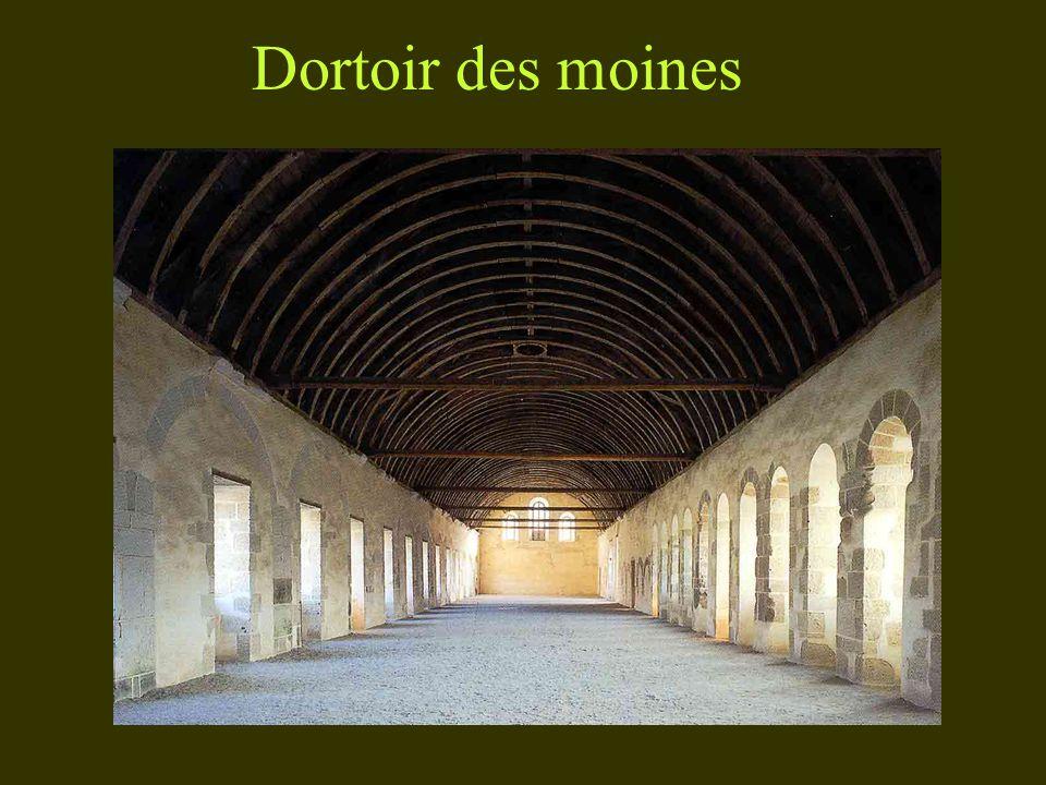 Dortoir des moines