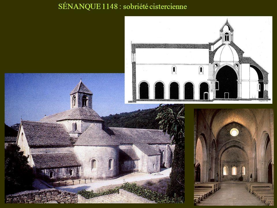 SÉNANQUE 1148 : sobriété cistercienne